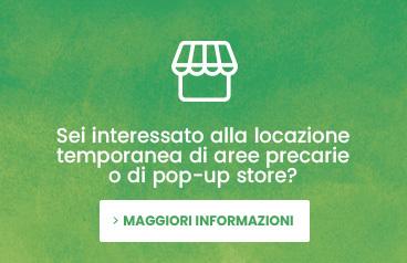 Cerchi uno spazio di vendita temporaneo o un pop-up store?